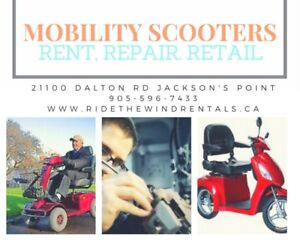 Electric Scooter Repair and Parts in Georgina ON
