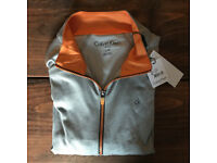 BRAND NEW - Calvin Klein Golf Trek Zip Top. Large.