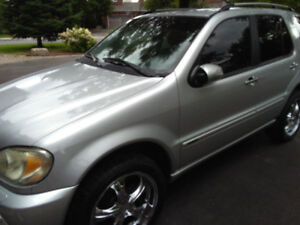 2005 Mercedes-Benz M-Class SUV, Crossover