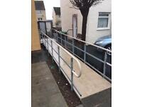 Disables access ramp