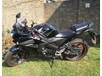 CBR125 '13 With Extras £1550
