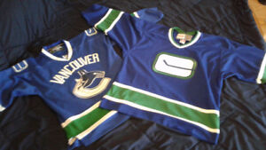 2 Vancouver Canuck Jerseys