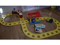 Happy Street ELC Station and Train Set