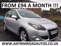 2010 RENAULT SCENIC 1.5 DCI DYNAMIQUE TOM TOM ** FINANCE AVAILABLE ** ALL CARDS ACCEPTED