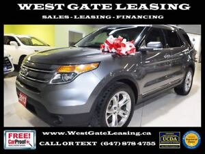 2013 Ford Explorer LIMITED | CAMERA | LEATHER |