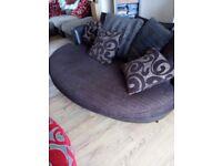 A beautiful snuggle sofa for sale