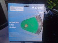 Diamond concrete blade.230mm
