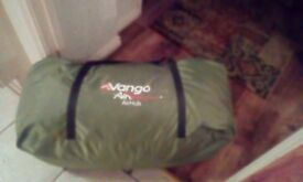 Vango Air beam hub gazebo. 2016. Used once. View on YouTube for instructions.