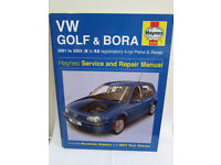 Haynes Volkswagen VW Golf / Bora manual no. 4169
