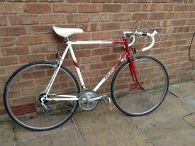 Vintage Raleigh equipe road bike