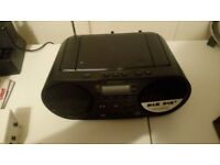 Sony CD DAB Boombox ZS-PS55B Barely used-As New