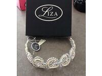 Brand New Liza Swarovski Bridal Head Piece. Still with tags.