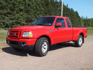 2010 Ford Ranger Sport (FX4 package) Supercab 4x4