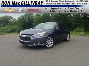 2015 Chevrolet Malibu LT..Low KM's..GM Certified!