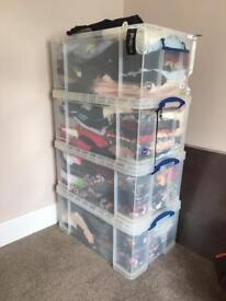 Job lot of clothes 250 items