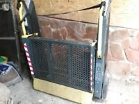 wheelchair lift, ricon,came out of a vw t5