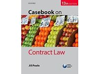 Casebook on Contract Law 13th Edition Jill Poole