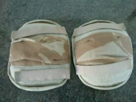 British Army Camouflage Knee Elbow Pads
