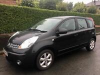 2008 NISSAN NOTE / ALLOYS / ELECTRIC WINDOWS / CD / AIR CON / MARCH MOT .