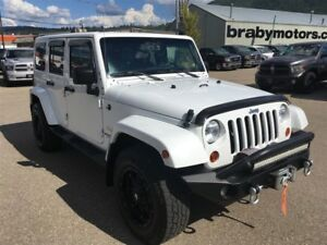 2013 Jeep WRANGLER UNLIMITED Sahara w/ extras, Heated Seats, Nav