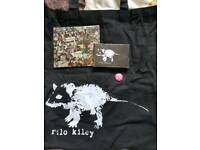 Rilo Kiley Rkives Cassette Tape, CD & Tote Bag
