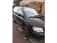 Chrysler Grand Voyager.. SE.. Black.. 54 Plate... Spares and Repairs...