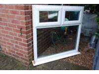 EYG Double glazed window one top right hand opener