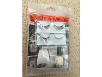 Ruby and Millie eye tools