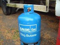 Calor Gas 'Empty' 15kg Butane gas bottle, can be delivered