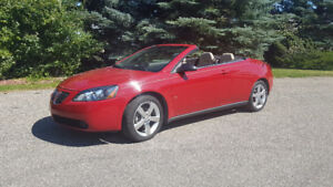 Beautiful 2007 Pontiac G6 GT Convertible