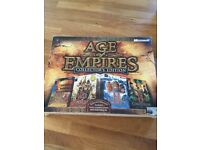 Age of Empires collectors Edition PC games