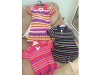 3 x Girls Ralph Lauren tennis dresses 6-8yrs