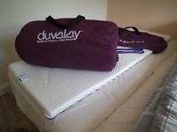 Duvalay Gold Memory Foam Toppers