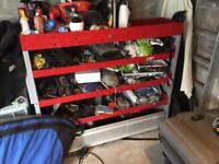 Van metal racking