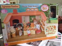 BRAND NEW IN UNOPENED BOX Sylvanian Families Brick Oven Bakery
