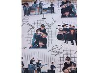 Beatles wallpaper from 1964!