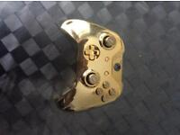 Brand new gold Xbox one controller. Feel free to offer.