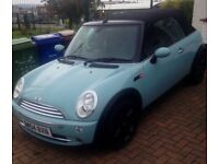 Beautiful, show room condition full leather mini convertible. Bargain price, reluctant sale.