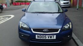 FORD FOCUS ZETEC 1.6 5DR PETROL FULL YEAR MOT EXCELLENT CONDITION DRIVES REALLY WELL
