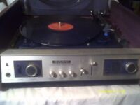A GENUINE SONY , made in JAPAN , AMPLIFIER AM/FM TUNER & RECORD DECK the HP - 48 A ..