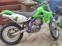 1998 KAWASAKI KLX300R ENDURO. ON/OFF ROAD LEGAL.