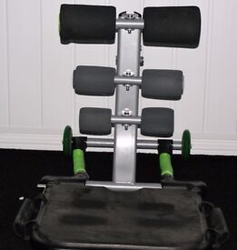 TOTAL CORE ABDOMINAL WORKOUT MACHINE IN GOOD USED CONDITION ONLY £15, CAN DELIVER