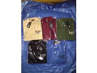 EA7 EMPORIO ARMANI POLO SHIRTS ***ALL SIZES AND COLOURS***£15 EACH OR 2 FOR £25***