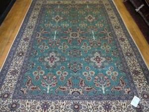 11808-Nain Hand-knotted Persian Rug/Carpet Traditional Authentic