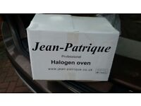 Virtually new Jean Patrique Professional 1300w Halogen Oven still in original packaging