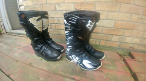 Fox and Thor MX boots