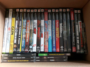 Box of old games