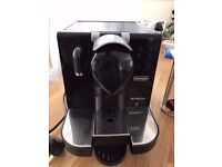 Delonghi EN670 B Nespresso Lattissima Pod System Coffee Machine Black only £70 Only!