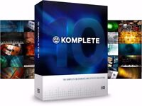 Native Instrument Komplete 10 with genuine serial transfer code for Native Access