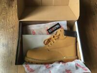 Steel-toe cap boots